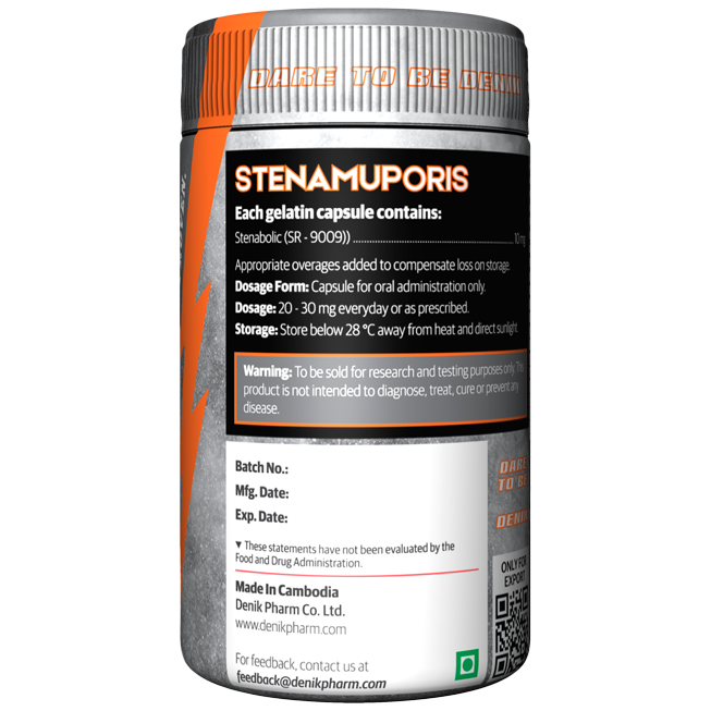STENAMUPORIS (SR 9009) STENABOLIC !!! FAT LOSS,LEAN MUSCLE GAIN